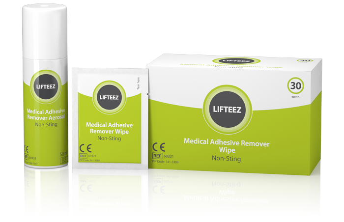 Lifteez Medical Adhesive Remover – Non-sting