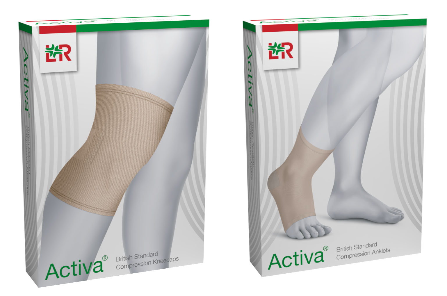 Activa Anklets and Kneecaps