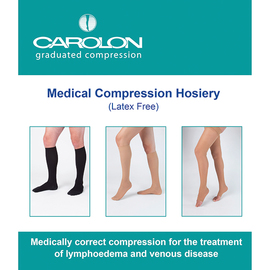Carolon Medical Compression Hosiery for Lymphoedema