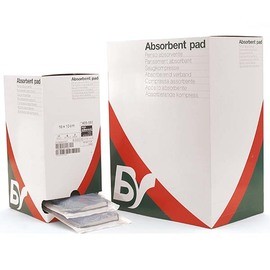 Absorbent Pads with Non-adherent Net 485