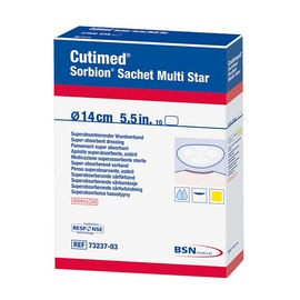 Cutimed Sorbion Sachet Multi Star