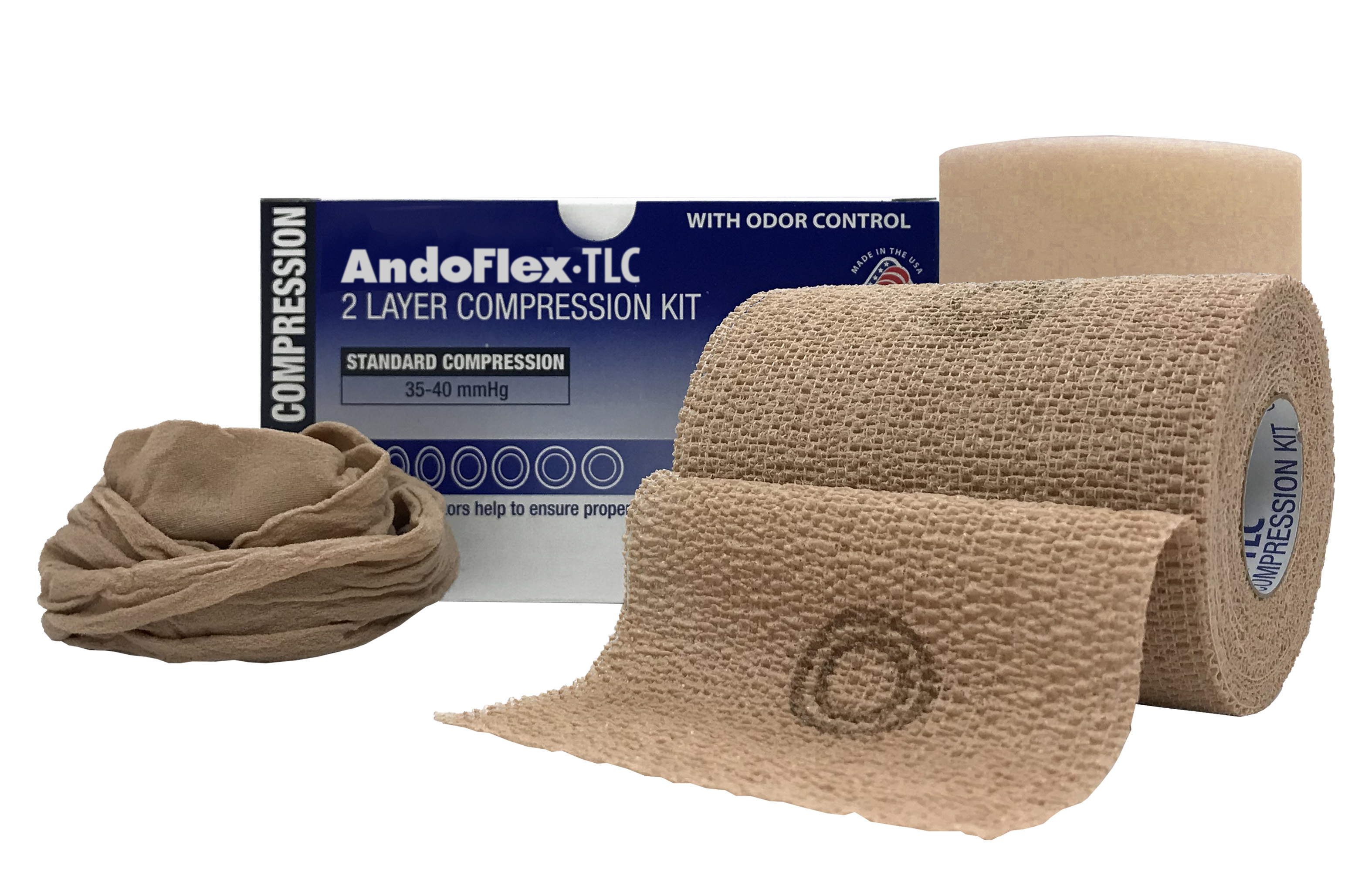 AndoFlex TLC — 2 layer kit with malodour control